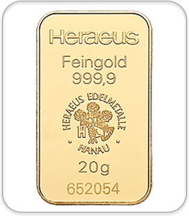 20gram Gold Bullion Bar