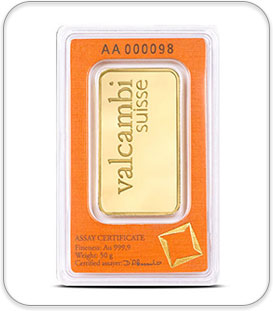 50gram Gold Bullion Bar