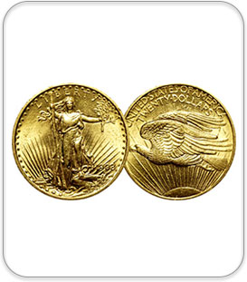 Amercian Double Eagle Gold Coin