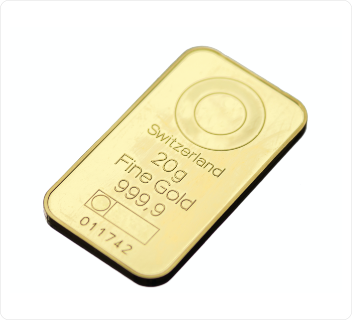 20g Gold Bullion bar